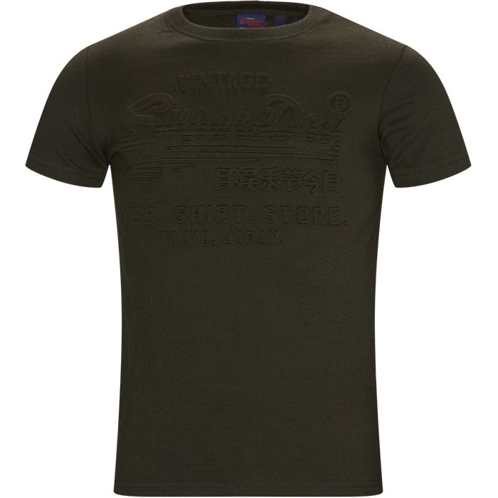M1000033B Tee - T-shirts - Regular - Army
