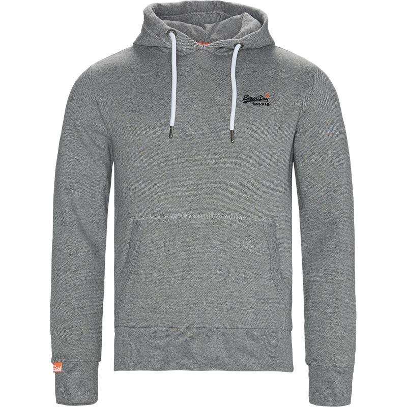 superdry Superdry m2000021a hoodie grå på quint.dk