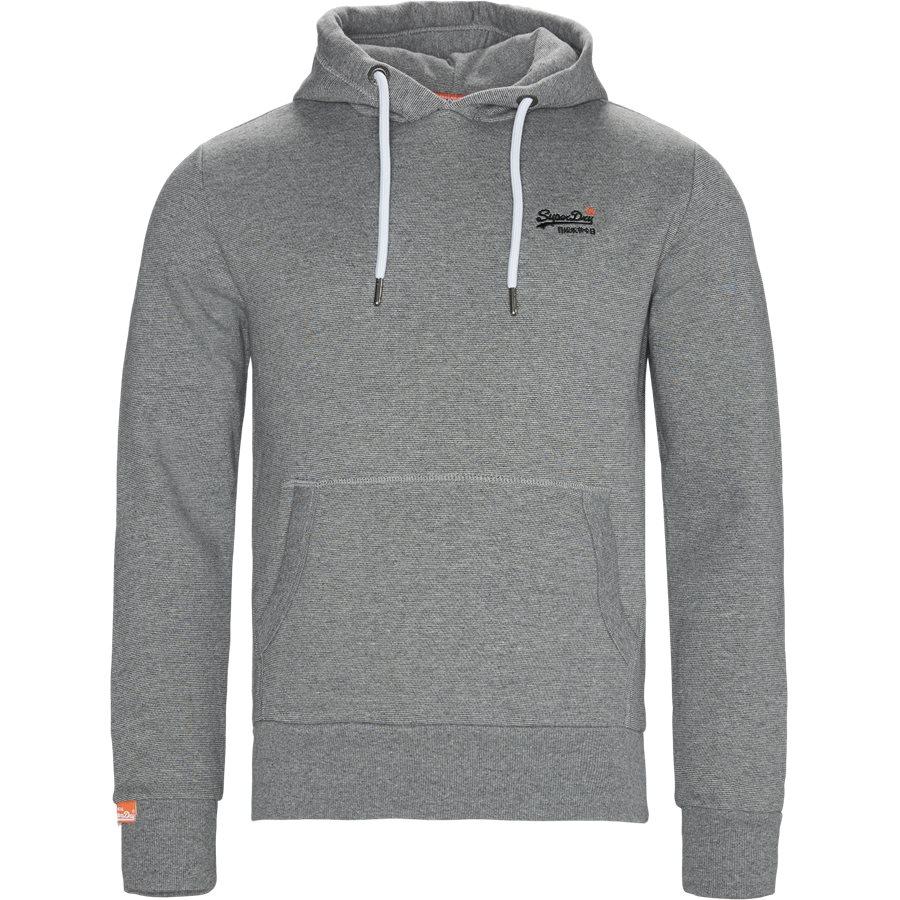 M2000021A - M2000021A Hoodie - Sweatshirts - Regular - GRÅ - 1