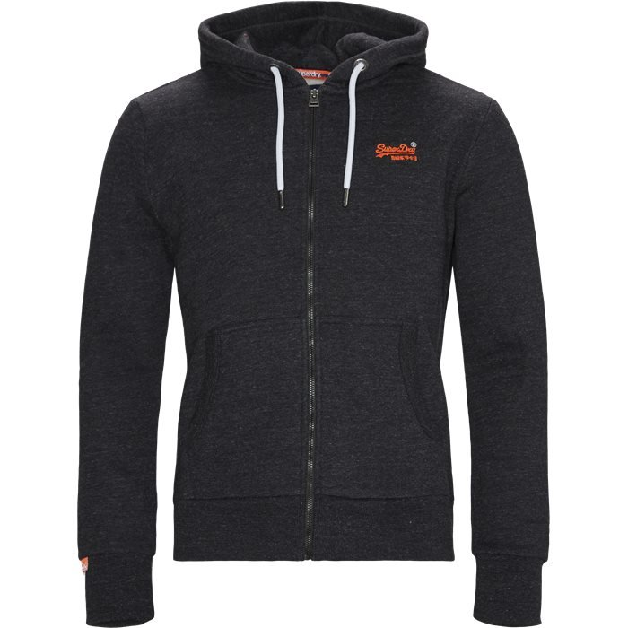 M2000022A Zip Sweatshirt - Sweatshirts - Regular - Grå