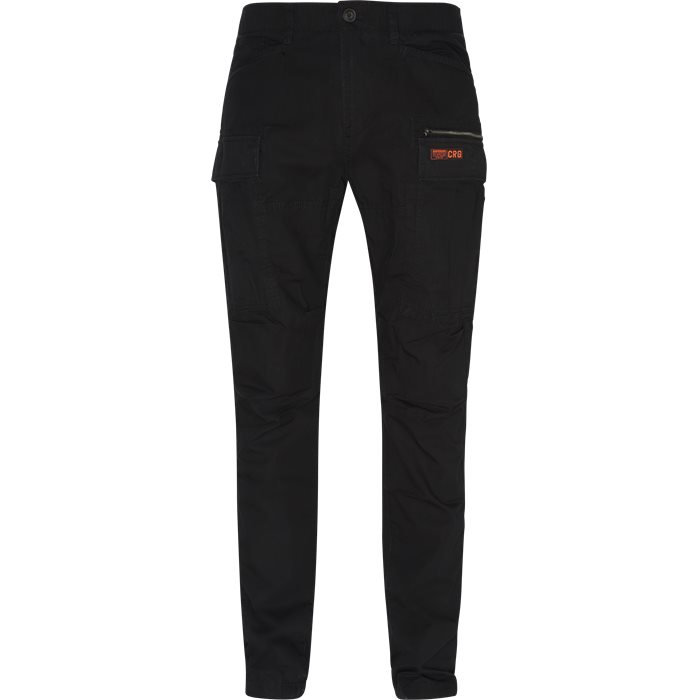 Cargo Pant - Bukser - Straight fit - Sort