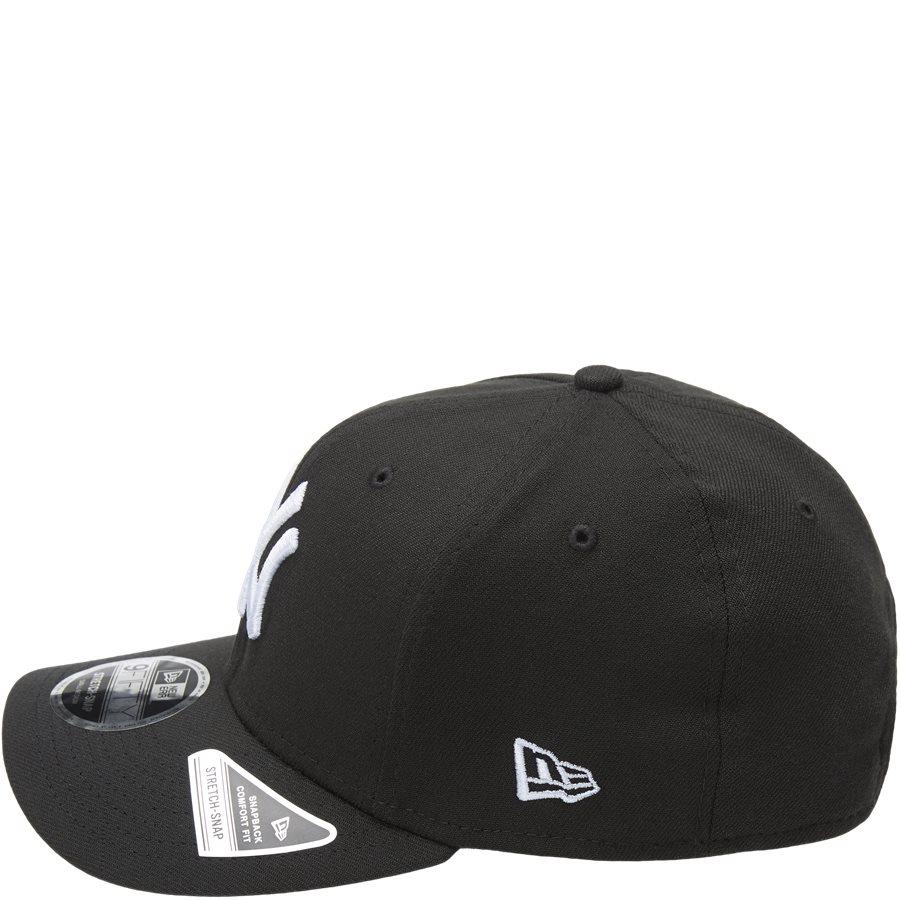 950 NY SNAP 11871279 - NY Snapback Cap - Caps - SORT/HVID - 3