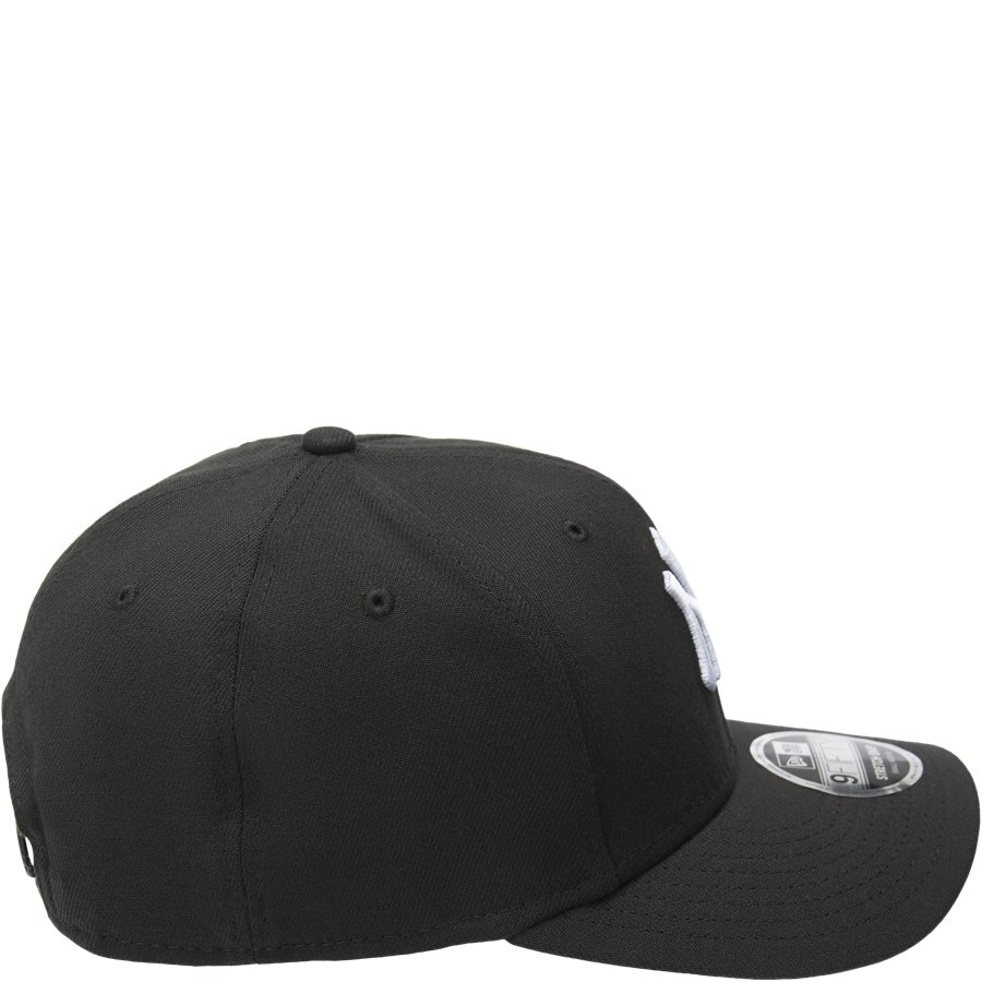 950 NY SNAP 11871279 - NY Snapback Cap - Caps - SORT/HVID - 4