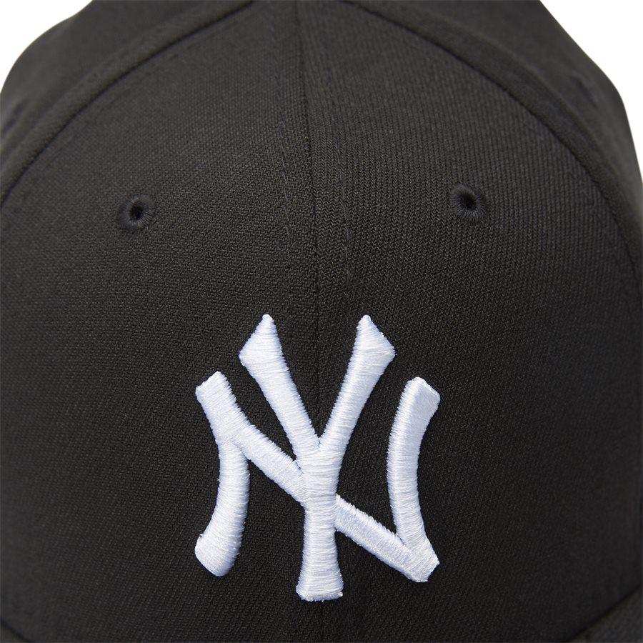 950 NY SNAP 11871279 - NY Snapback Cap - Caps - SORT/HVID - 5