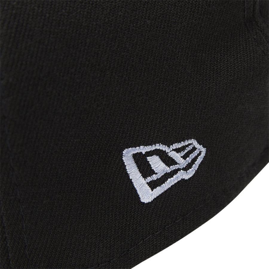 950 NY SNAP 11871279 - NY Snapback Cap - Caps - SORT/HVID - 6