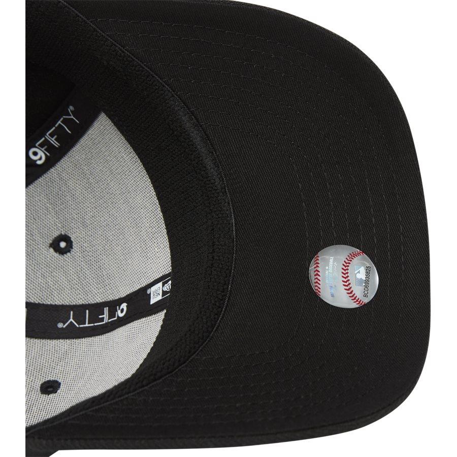 950 NY SNAP 11871279 - NY Snapback Cap - Caps - SORT/HVID - 7