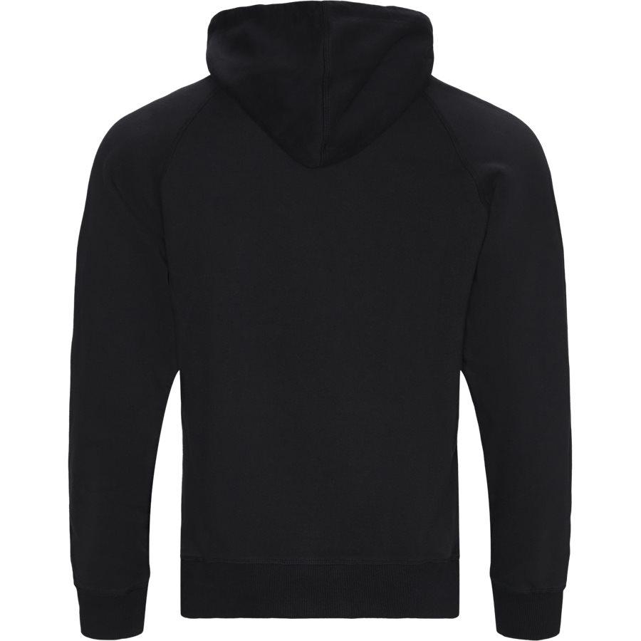 MONOGRAM HOODIE - Sweatshirts - SORT - 2