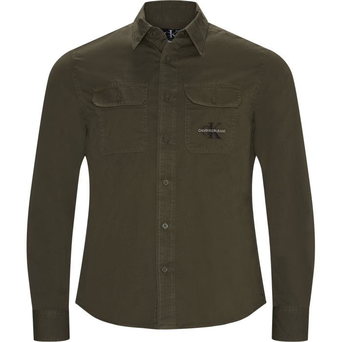Shirts - Regular - Green