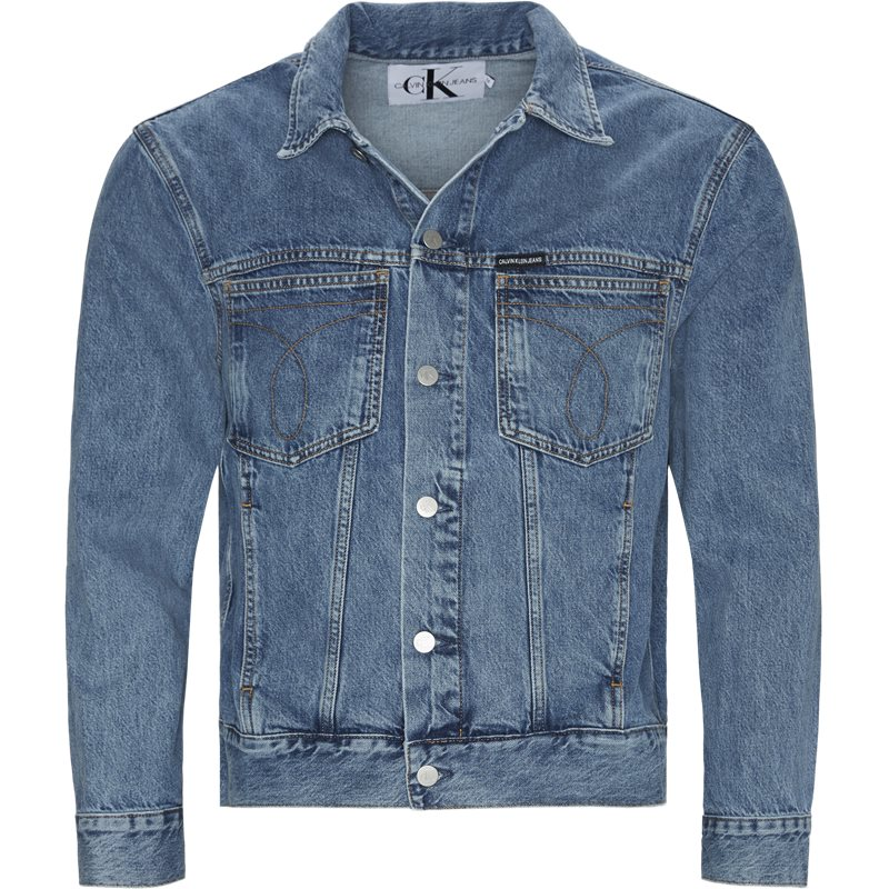 Image of   Calvin Klein Trucker Jacket Denim