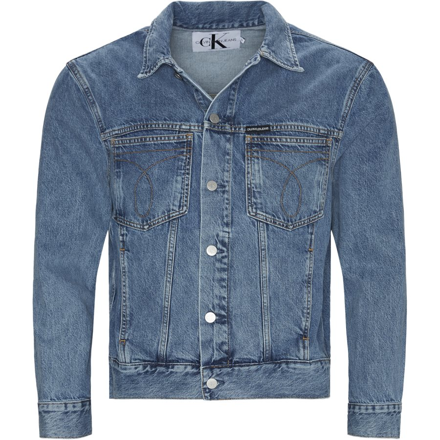 TRUCKER JACKET - Trucker Jacket - Jakker - Oversize fit - DENIM - 1