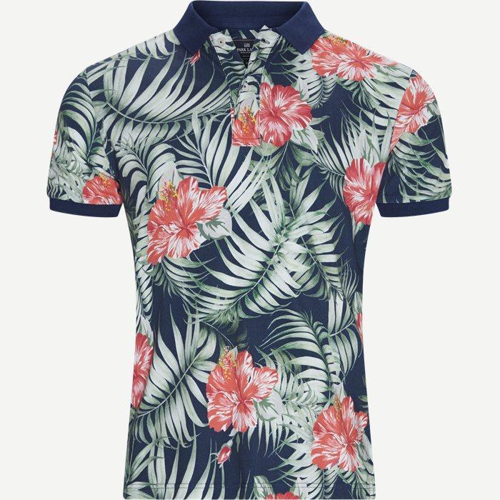 Polo T-shirt - T-shirts - Regular - Blå