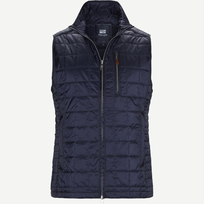 Bodywarmer Quilted Vest - Veste - Regular - Blå