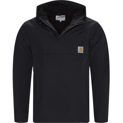 Nimbus Pullover Jacket Regular | Nimbus Pullover Jacket | Sort