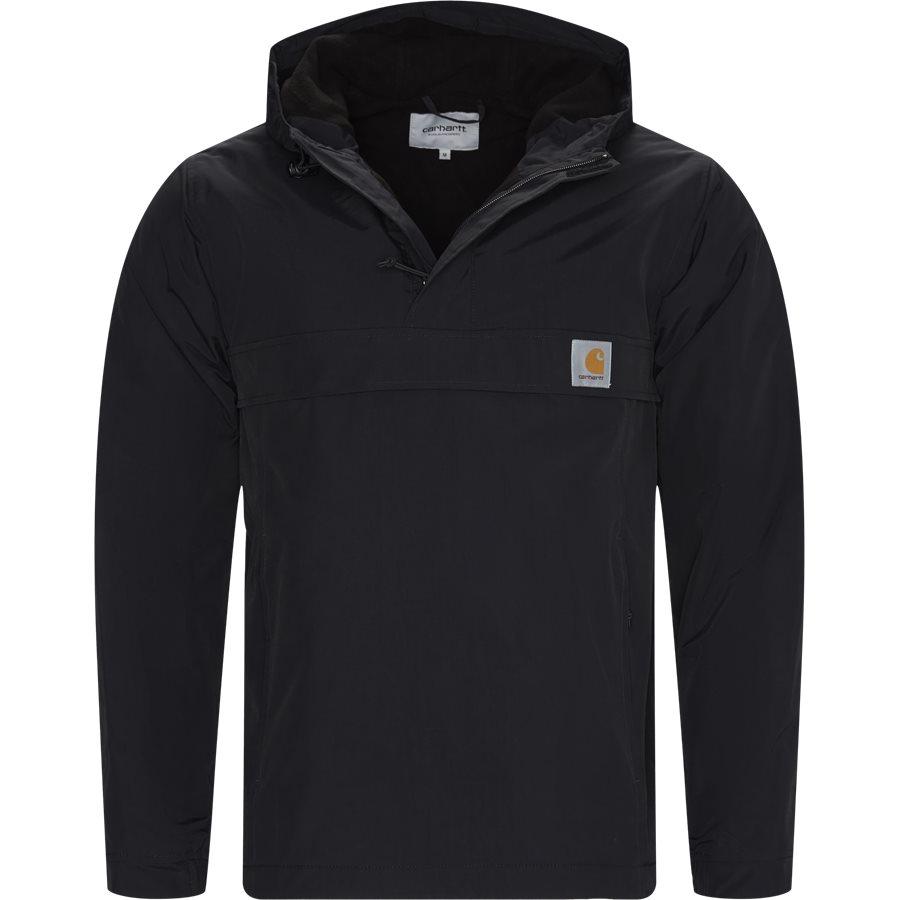NIMBUS PULLOVER I027639 - Nimbus Pullover Jacket - Jakker - Regular - BLACK - 1