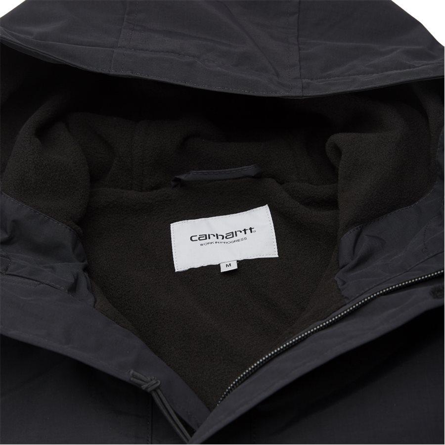 NIMBUS PULLOVER I027639 - Nimbus Pullover Jacket - Jakker - Regular - BLACK - 5