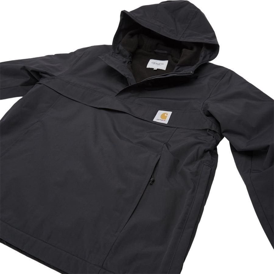 NIMBUS PULLOVER I027639 - Nimbus Pullover Jacket - Jakker - Regular - BLACK - 7