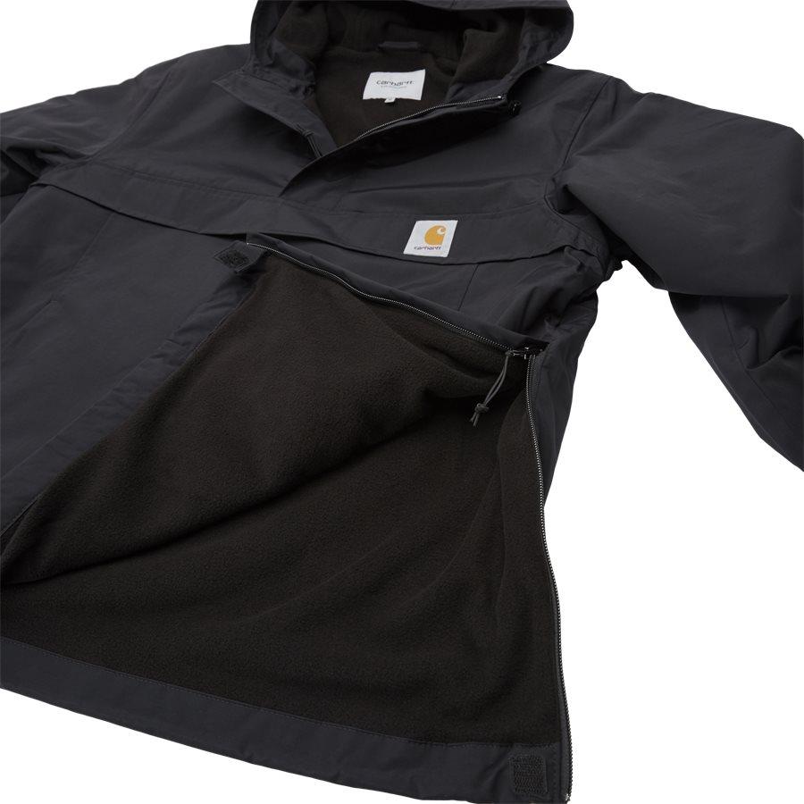 NIMBUS PULLOVER I027639 - Nimbus Pullover Jacket - Jakker - Regular - BLACK - 9