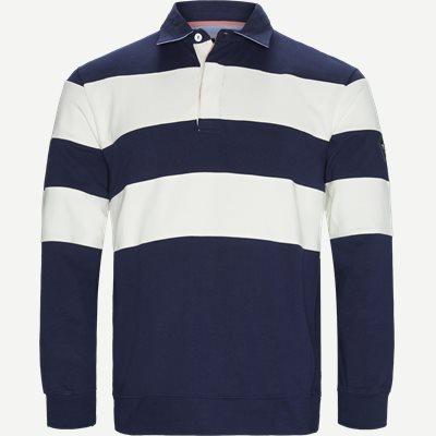 Langærmet Polo T-shirt Regular   Langærmet Polo T-shirt   Hvid