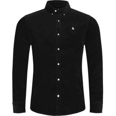 LS Madison Cord Shirt Regular | LS Madison Cord Shirt | Sort