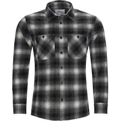 L/S Halleck Shirt Loose | L/S Halleck Shirt | Sort
