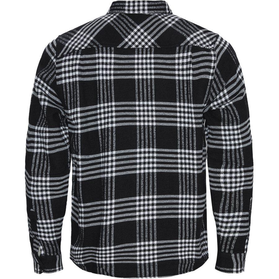 L/S LAMBIE SHIRT I026821 - L/S Lambie Shirt - Skjorter - Loose - CHECK/BLK/WHI - 2