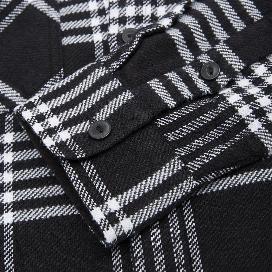 L/S LAMBIE SHIRT I026821 - L/S Lambie Shirt - Skjorter - Loose - CHECK/BLK/WHI - 3