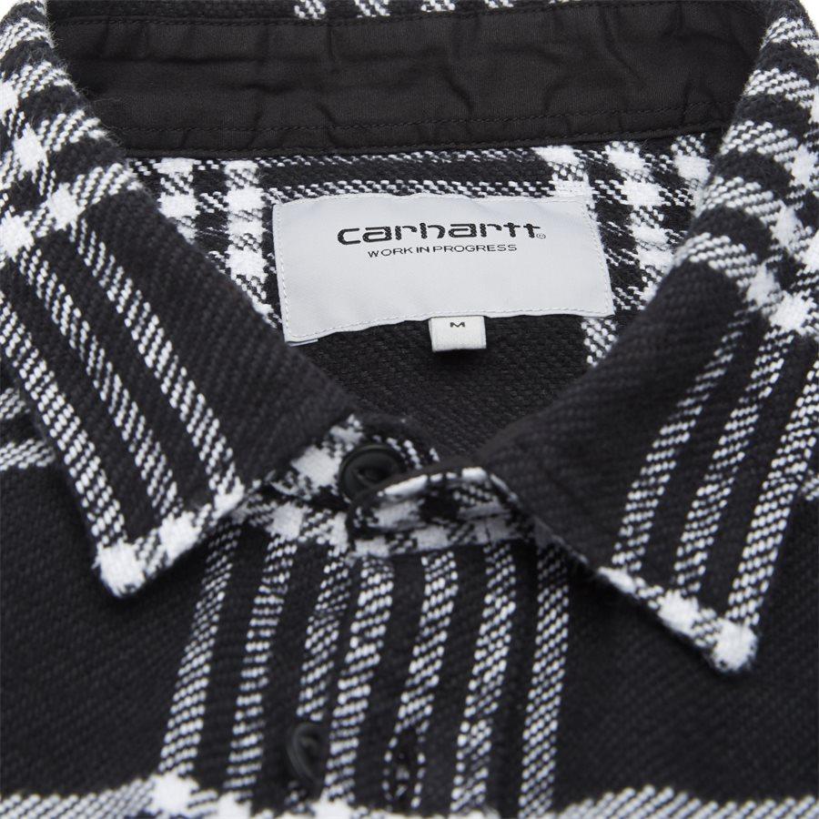 L/S LAMBIE SHIRT I026821 - L/S Lambie Shirt - Skjorter - Loose - CHECK/BLK/WHI - 6
