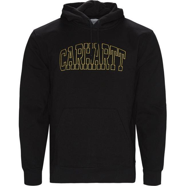 Hooded Theory Embroidery Sweatshirt