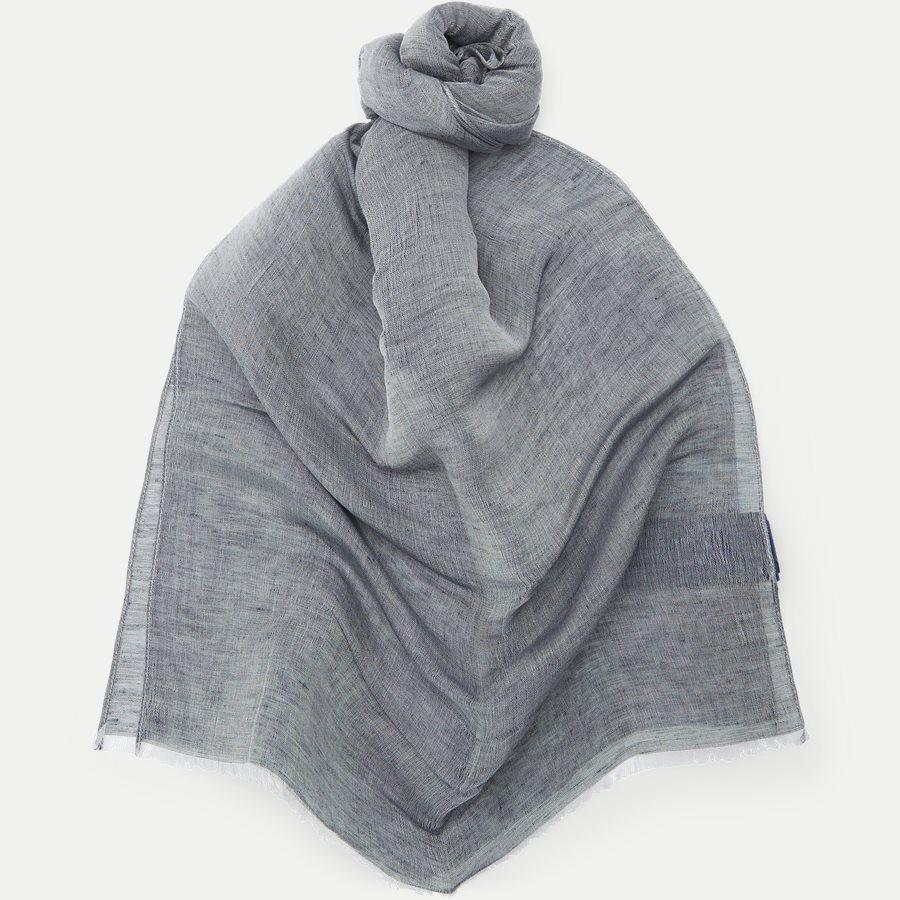 1776 SCARF LINEN - Tørklæde - Tørklæder - GRÅ - 1