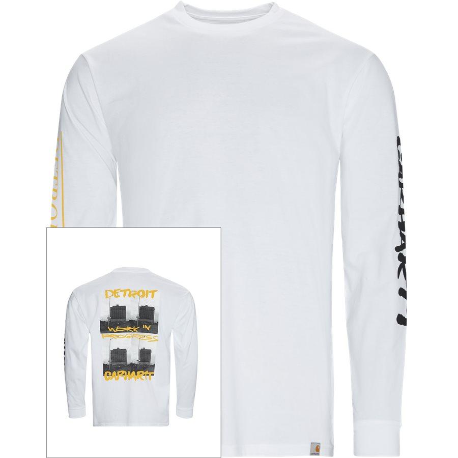 L/S REBIRTH I027113 - L/S Rebirth Tee - T-shirts - Regular - WHITE - 1