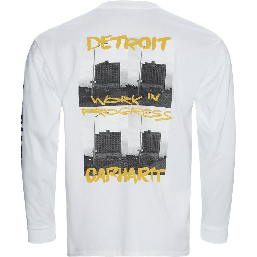 L/S REBIRTH I027113 - L/S Rebirth Tee - T-shirts - Regular - WHITE - 2