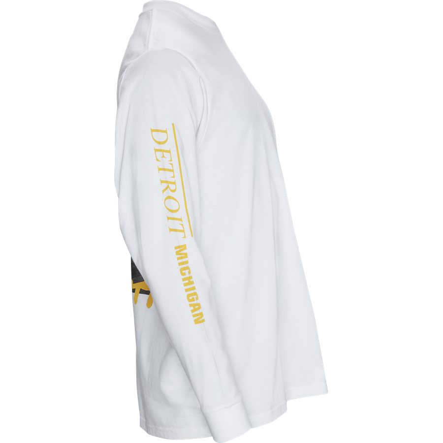 L/S REBIRTH I027113 - L/S Rebirth Tee - T-shirts - Regular - WHITE - 3