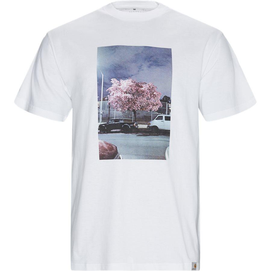 S/S MATT M. I027112 - S/S Matt Martin Blossom Tee - T-shirts - Regular - WHITE - 1