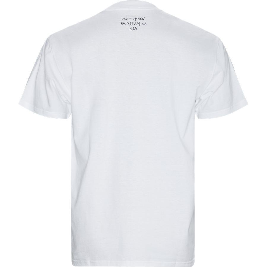 S/S MATT M. I027112 - S/S Matt Martin Blossom Tee - T-shirts - Regular - WHITE - 2