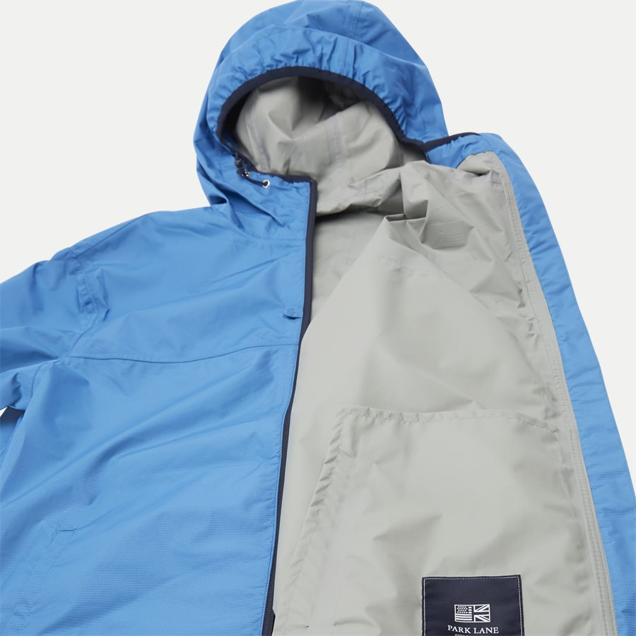 1744 JACKET 3 LAYER WATER RESISTANT - Vindjakke - Jakker - Regular - BLÅ - 8