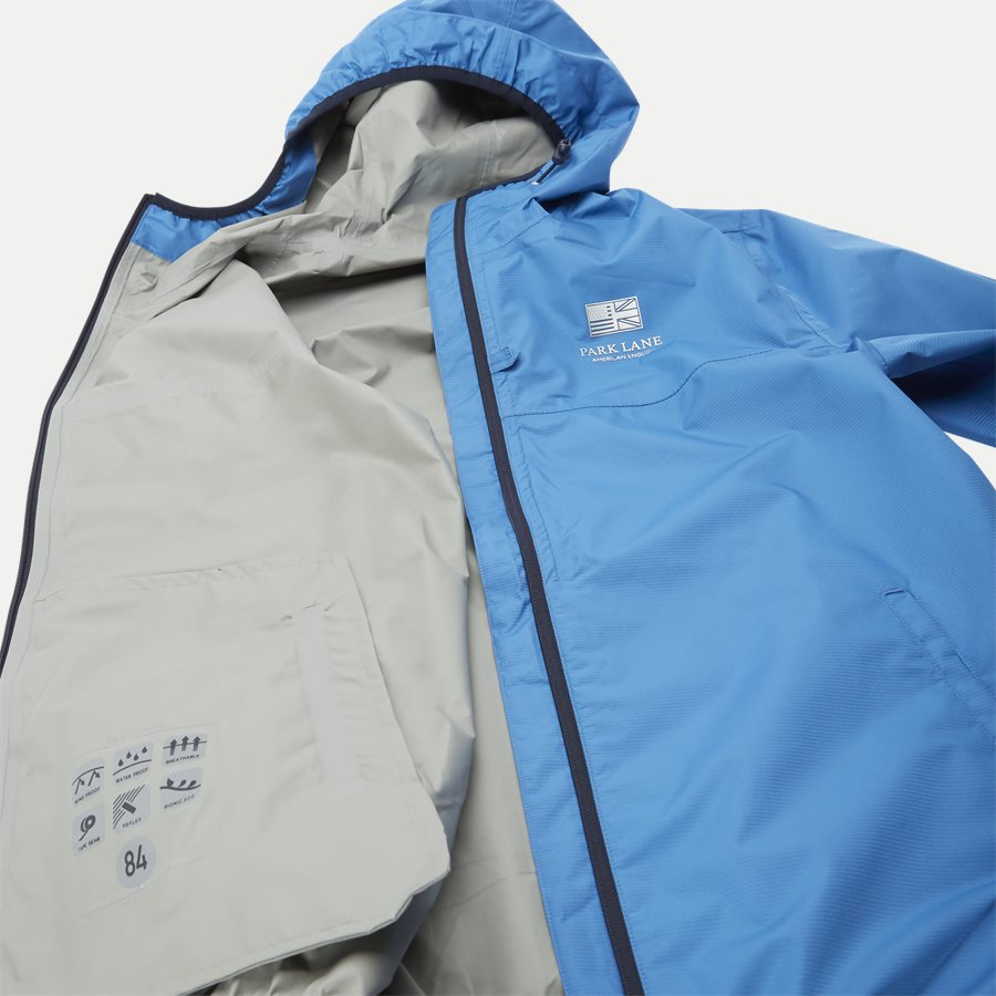 1744 JACKET 3 LAYER WATER RESISTANT - Vindjakke - Jakker - Regular - BLÅ - 9
