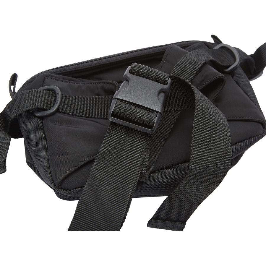 MILITARY HIP BAG I024252 - Military Hip Bag - Tasker - BLACK/BLACK - 2