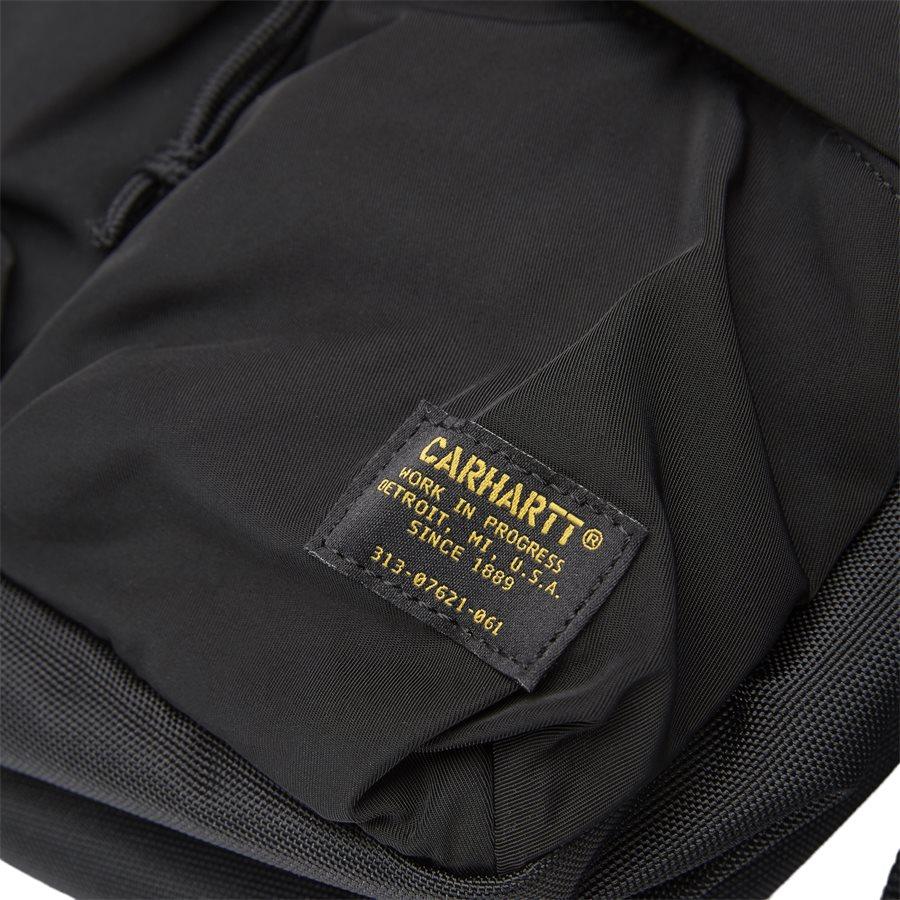 MILITARY HIP BAG I024252 - Military Hip Bag - Tasker - BLACK/BLACK - 4