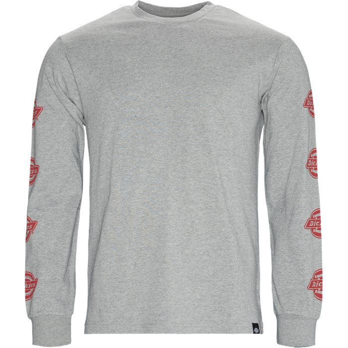 Dorton LS Tee - T-shirts - Regular - Grå