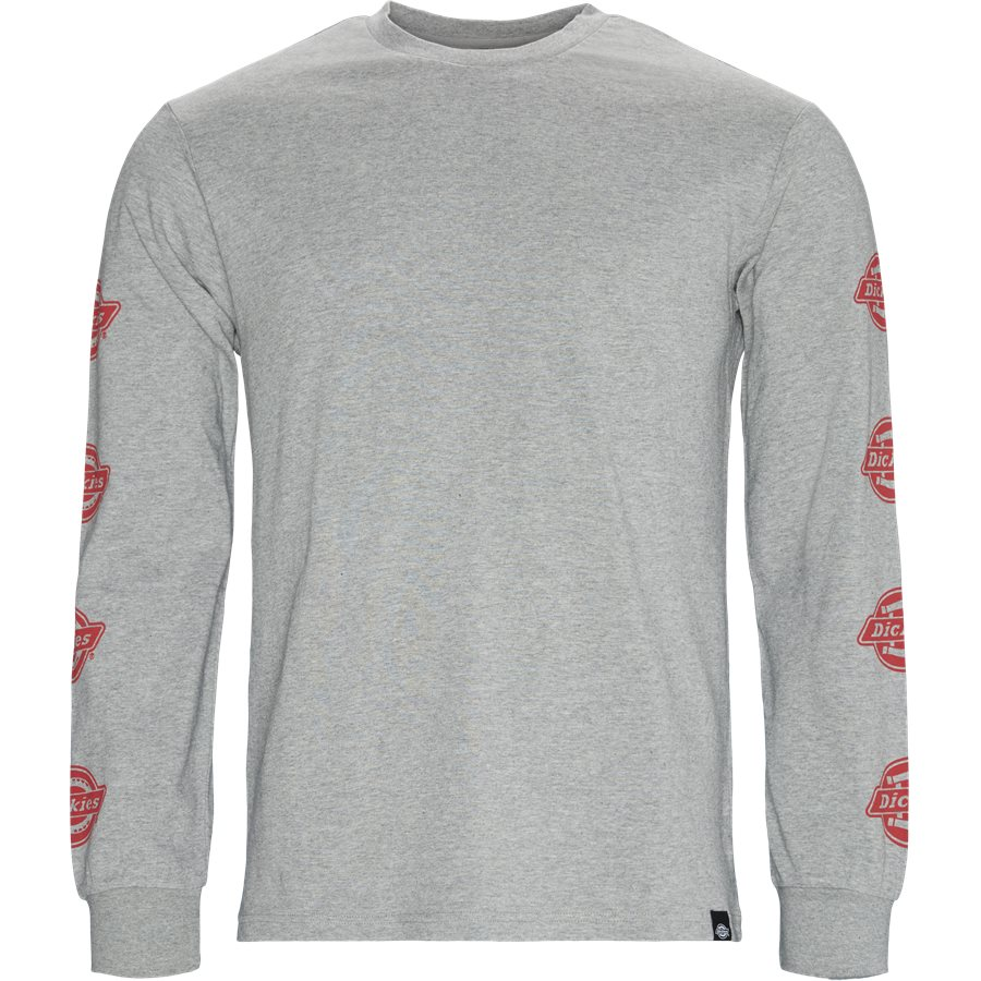 LS DORTON 06-210657 - Dorton LS Tee - T-shirts - Regular - GRÅ - 1