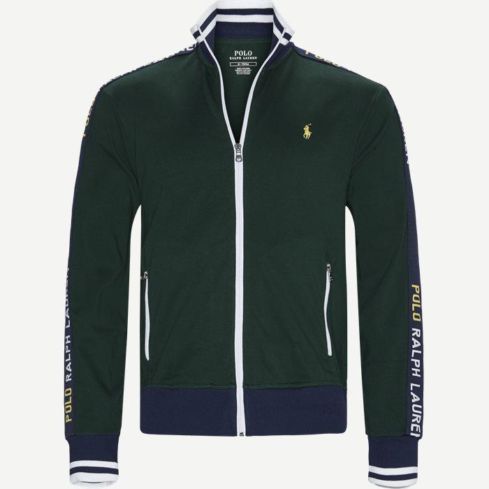 b24284599a8 Interlock Track Jacket Sweatshirt - Sweatshirts - Regular - Grøn. Polo  Ralph Lauren