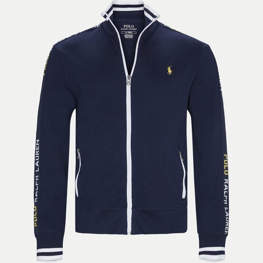 710750705 -  Interlock Track Jacket Sweatshirt - Sweatshirts - Regular - NAVY - 1