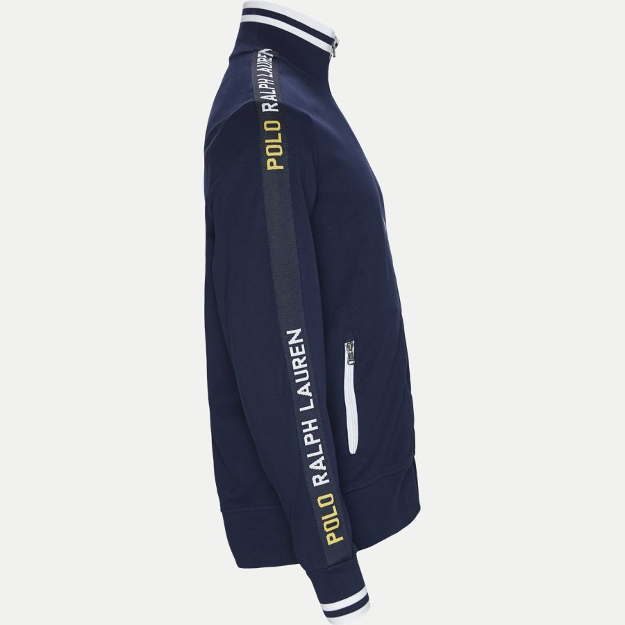 710750705 -  Interlock Track Jacket Sweatshirt - Sweatshirts - Regular - NAVY - 3