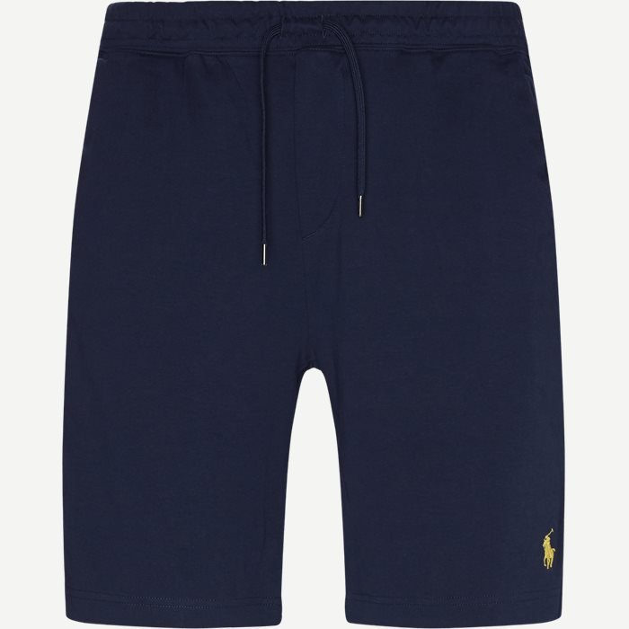 Interlock Jersey Shorts - Shorts - Regular - Blå