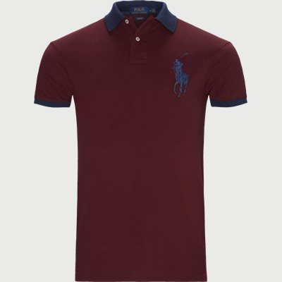 Slim | T-shirts | Bordeaux