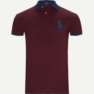 Big Pony Polo Shirt Slim   Big Pony Polo Shirt   Bordeaux