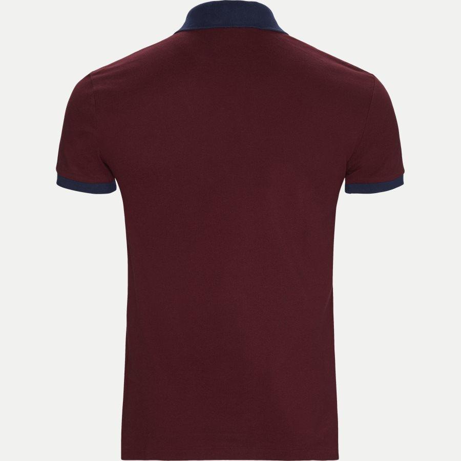 710524117 - Big Pony Polo Shirt - T-shirts - Slim - BORDEAUX - 2
