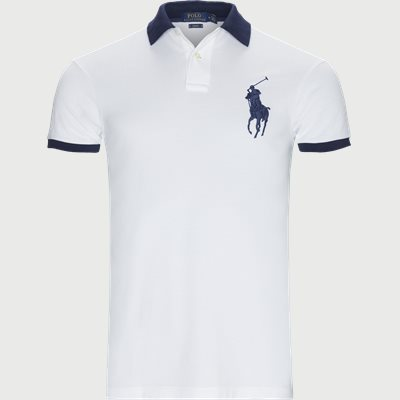 Big Pony Polo Shirt Slim | Big Pony Polo Shirt | Hvid