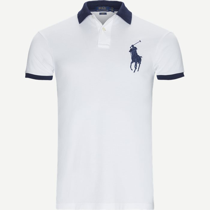 Big Pony Polo Shirt - T-shirts - Slim - Hvid