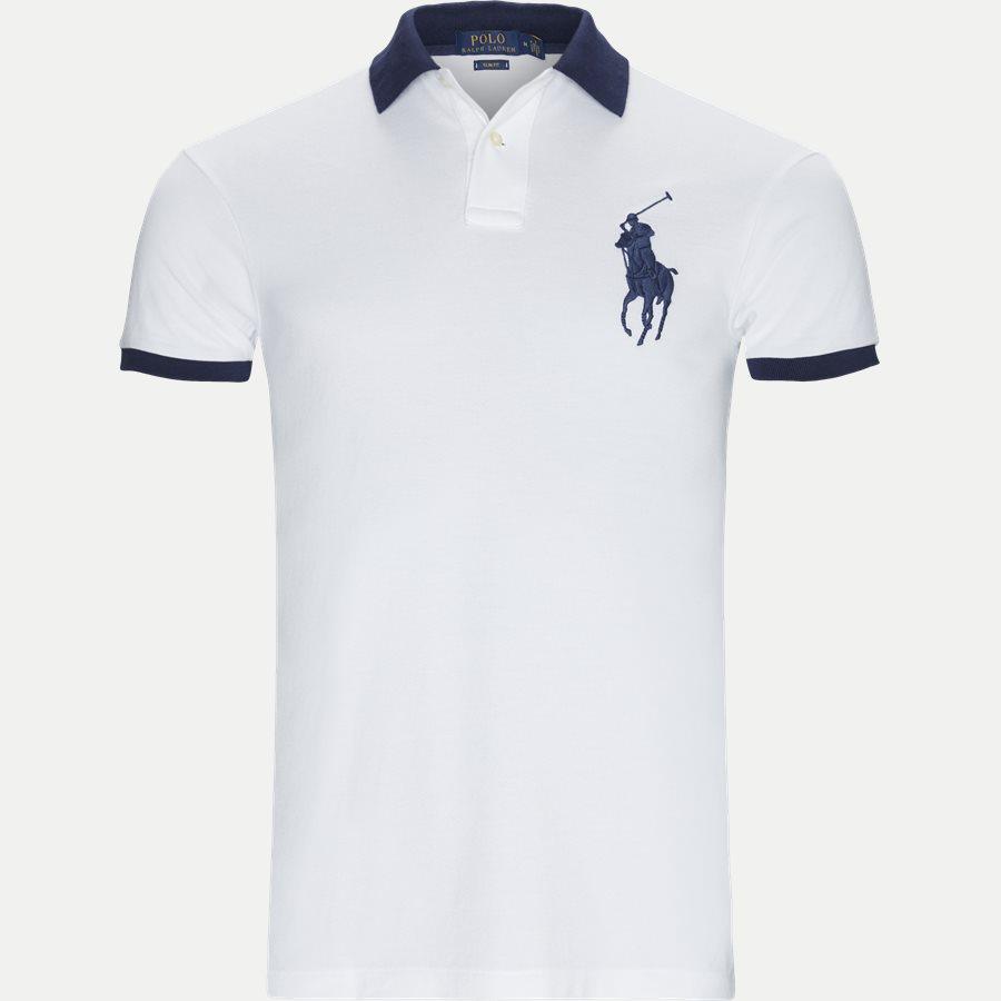 710524117 - Big Pony Polo Shirt - T-shirts - Slim - HVID - 1